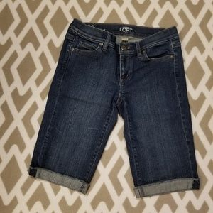 LOFT Outlet denim shorts